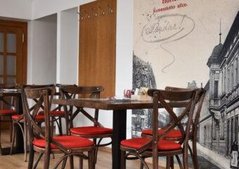 Restaurace – interiér